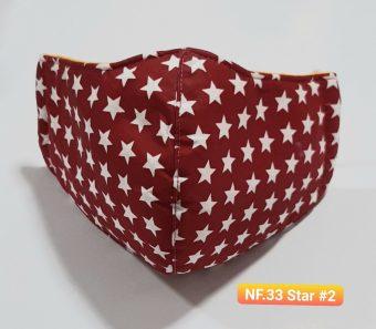 Khẩu Trang Vải - NF.33 Star #2