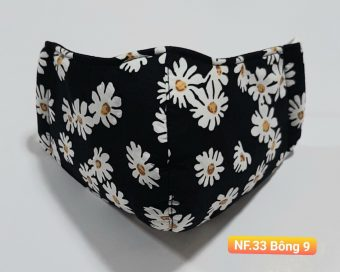 Khẩu Trang Vải - NF.33 Bông 9