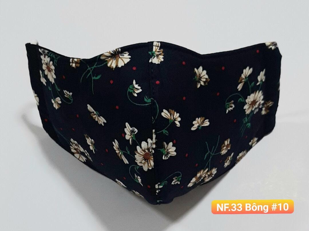 Khẩu Trang Vải - NF.33 Bông 10