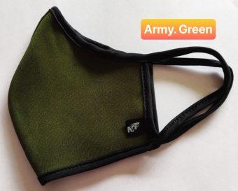 Khẩu Trang Vải - Army. Green