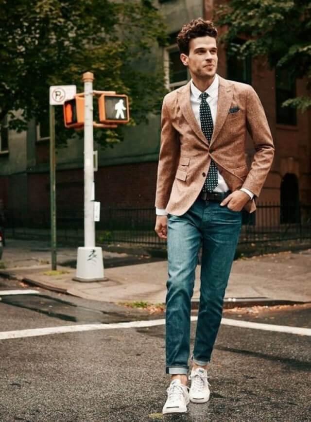 Cách phối màu quần Jean với giày