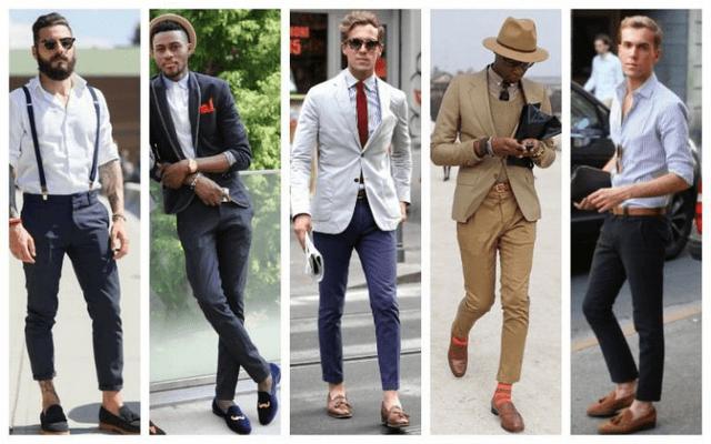 Giày lười nam mặc với quần gì là đẹp nhất?