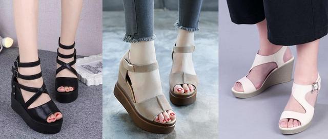 Thường thì kiểu giày bệt không thể tăng chiều cao