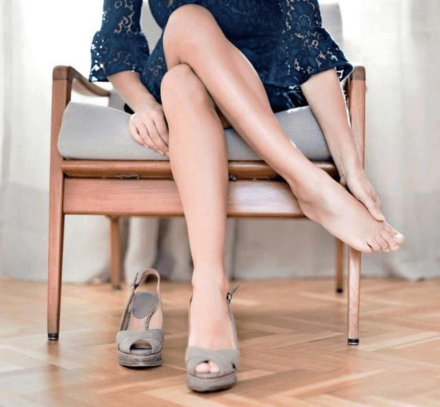 Độ cao của giày cao gót